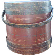 Antique Firkin - Original paint & decoration