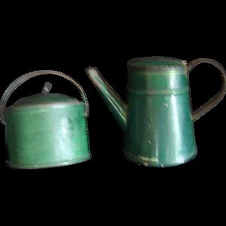 Antique Miniature Tinware