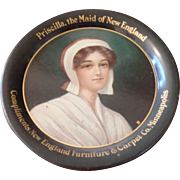 Advertising Tip Tray - Priscilla, the Maid of New England