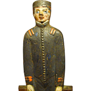Original  Cast Iron Doorstop - Bellhop