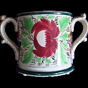19th Century King's Rose Frog Mug