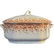 1850 T&R Boote Campania Waterloo Covered Casserole Server