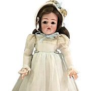 "Rare Antique Handwerck 14"" Bisque Doll 421 Marked Composition Body Sleepy Eyes"