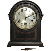 Rare Seth Thomas 8 Day Mantel Clock 124A Mayland Movement Westminster Chime All Original