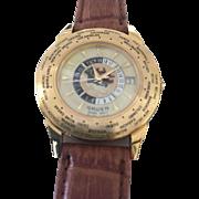 Genuine Gruen World-Time Watch - Never Worn