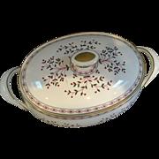Royal Crown Derby Bone China Brittany Pattern Casserole Dish