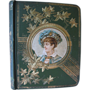 Victorian Scrap Book-50 Pages with over 250 Advertising  cards