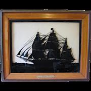 "Lg. Silhouette ""Westward Ho"" Clipper Ship"