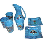 Arizona Pottery Set 1950s