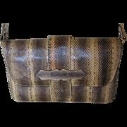 Genuine Snake Skin Ladies Shoulder Bag-Vintage-