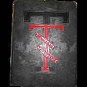 1939 Texas La Ventana Tech Yearbook