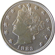 1883 -V- Nickel NO Cent Veriety