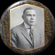 Vintage Lg. Pocket Mirror--African American--