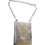 1930s Deco Dance Purse with Coin Holder
