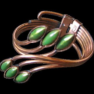Matiss Renoir Copper Clamper Bracelet