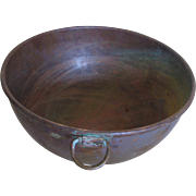Very Old Copper Chocolate or Jelly Pot--1/2 Gallon