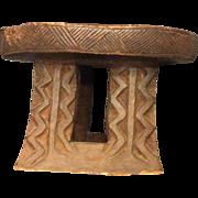 African Tribal Stool, c. 1910