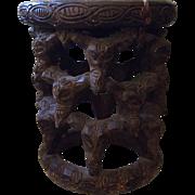 Antique African Yoruba Tribal Stool