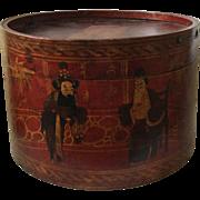 Antique Chinese Laquered Box