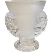 Lalique St Cloud Crystal Vase, Mint Condition
