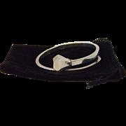 Spratling Modernist Sterling Nail Bracelet