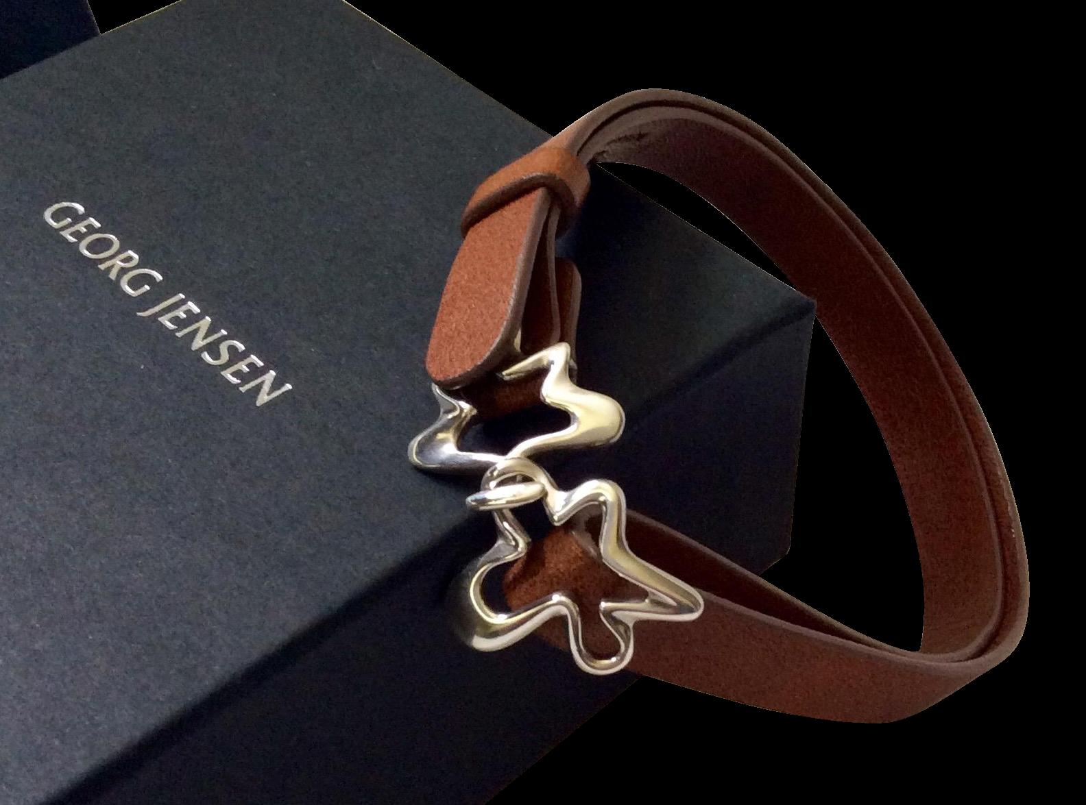 georg jensen splash bracelet in gift box henning koppel design from archetypes on ruby lane. Black Bedroom Furniture Sets. Home Design Ideas