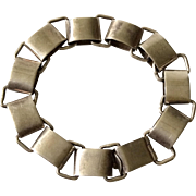 "William Spratling Taxco Sterling Silver ""Paper Chain"" Bracelet, c. 1956-1962"