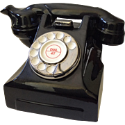 Carter Teapot in Form of Retro Rotary Dial Telephone