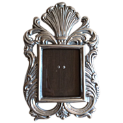 Vintage Silverplate Picture Frame