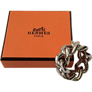Hermes Scarf Ring with Hermes Box