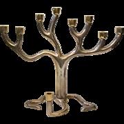 Tree of Life Menorah, Sandra Kravitz for Rosenthal