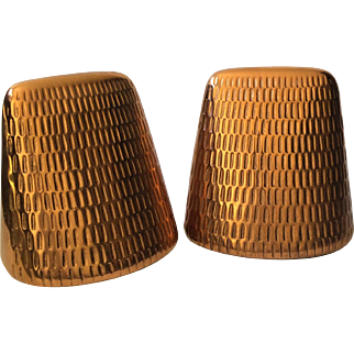 Ben Seibel MidCentury Modern Copper Bookends for Jenfredware