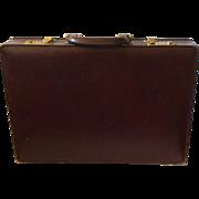Vintage Bottega Veneta Textured Leather Briefcase