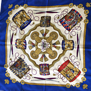 Hermes Scarf: Les Tambours