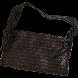 Bottega Veneta Intrecciato Woven Leather Bag, MINT CONDITION