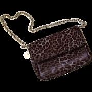 Judith Leiber Leopard Print Bag, PRISTINE