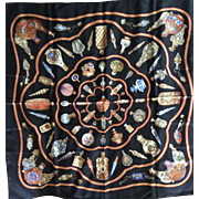 LIKE NEW Hermes Scarf Qu'Importe Le Flacons with Hermes Box