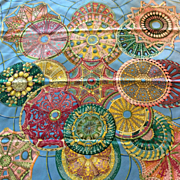 LIKE NEW Hermes Scarf: Les Domes Celestes