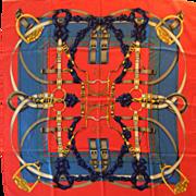 Hermès Silk Scarf: Grande Manège