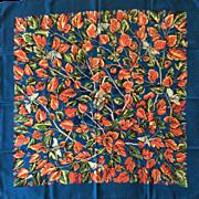 LIKE NEW Hermes Silk Scarf in Box: L'Arbre de Soie
