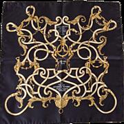 Hermès Silk Scarf in Box: L'Instruction du Roy