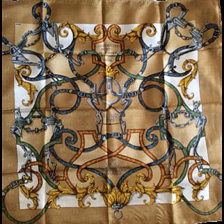Hermès Jacquard Silk Scarf: L'Instruction du Roy in Hermès Box