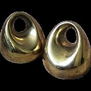 Ben Seibel MidCentury Brass Orb Bookends