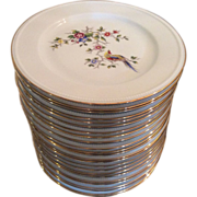 Limoges dinner plates by Bernardaud & Co.