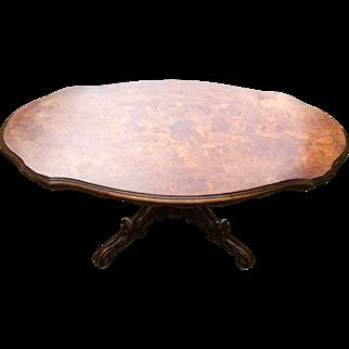 Marquette Wood Violon Coffee Table