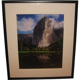 Fine MARC MUENCH 'El Capitan Reflections' YOSEMITE Signed Photograph - Listed