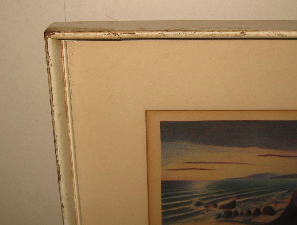 Rare Buell Whitehead Redondo Beach California Lithograph