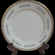 "Beautiful Oxford Bone China ""Hampshire"" 10 ½-Inch Dinner Plate."