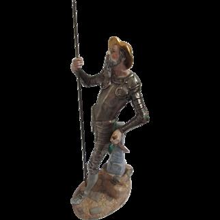 Vintage Don Quixote Porcelain Figurine 1950's