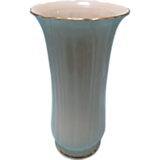 Signature Collection Vase Toyo Japan  with Gold Rim Gorgeous Piece Looks Brand New